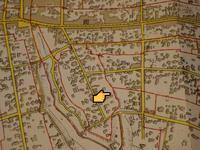 旧町名鷹匠町の東側のライン - みとぶら