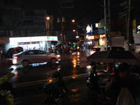 Evening Lower Bicutan in rain - SONGS