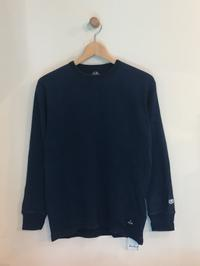 BLUE BLUE / FRUIT OF THE LOOM BLUEBLUE INDIGO WAFFLE LS T - Safari ブログ