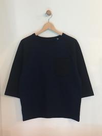 BLUE BLUE JAPAN / インディゴ セッケツヘヴィーテンジクラグラン ワイドハーフスリーブ Tシャツ - Safari ブログ