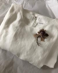 """50年目のウェディングドレス…ワンピース『エマ』 - いつかリリアン・ギッシュのように…""""Mrs.GRACE""""のアトリエ便り"""