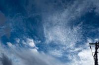 台風前一瞬の青空 - 彩りの軌跡
