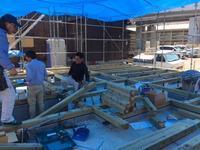 土台敷き - サン建築工房:エコショップブログ