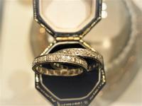 ダイヤモンドのフルエタニティーリング - AntiqueJewellery GoodWill