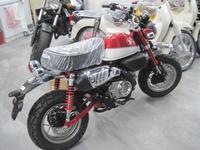 モンキー125にイモビアラーム - バイクの横輪