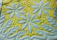 1枚キルティング終わりました - ほっと一息・・~Sakura's Hawaiian QuiltⅡ
