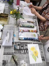 やさしい水彩画教室 - みんなのパソコン&カルチャー教室 北野田校