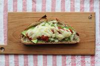 アボカドチーズトースト - Nasukon Pantry