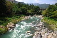 御岳渓谷の風景 - お散歩写真     O-edo line
