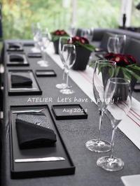 Reunion 2018 プライベートのホームパーティー♪ - ATELIER Let's have a party ! (アトリエレッツハブアパーティー)         テーブルコーディネート&おもてなし料理教室