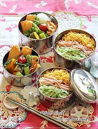 冷やし中華弁当と今夜のおうちごはん♪ - ☆Happy time☆