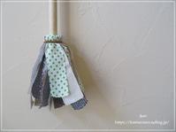 【ハンドメイド 夏休み】お掃除も楽しく♪*手作りはたき*できました** - &m   handmade with linen,cotton...