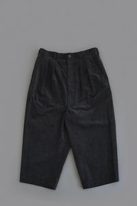 COMME des GARCONS HOMME  Corduroy Sarrouel Pants (Black) - un.regard.moderne