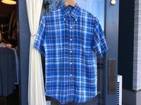 LANDS' END linen B.D. short sleeve shirt - BUTTON UP clothing