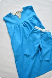 ママと男の子のお揃いセットが完成しました♫ - ハンドメイド親子お揃い服omusubi-five(オムスビファイブ)
