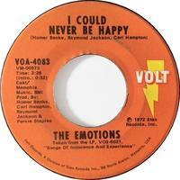 The Emotions ‎– I Could Never Be Happy / I've Fallen In Love - まわるよレコード ACE WAX COLLECTORS