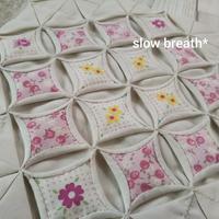 カテドラル ウインドー(続き) - 布と綴る日々     slow breath