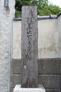 鶴岡市鳥居町にある羽黒山『一の鳥居』跡 - 「 ボ ♪ ボ ♪ 僕らは釣れない中年団 ♪ 」Ver.1