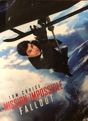 映画「ミッションインポッシブルフォールアウト」 - さすらいのバーブ坂田「笑わせるなよ泣けるじゃないか2」