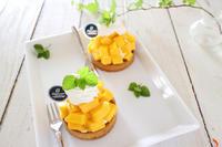 フレッシュマンゴータルトのレシピ - おうちカフェ*hoppe