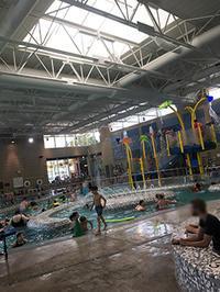 夏日プレイデート三昧、スノーホーミッシュの室内プール遊び - くもりのち雨、ときど~き晴れ Seattle Life 3