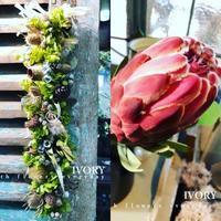 『〜IVORY 8月の花教室  開催です~♬』 -  Flower and cafe 花空間 ivory (アイボリー)