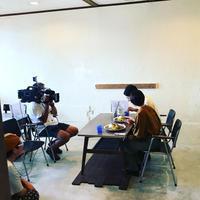 テレビの取材で(*≧∀≦*) - 阿蘇西原村カレー専門店 chang- PLANT ~style zero~