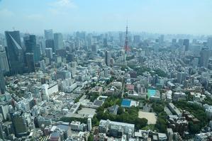 高いところから東京を見てみよう、果たしてここはどこ? - 旅プラスの日記