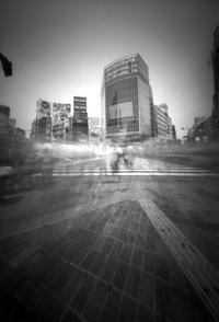 渋谷のスクランブル交差点 - はりあなのこころ