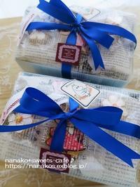 夏らしいラッピング*アイシングクッキー - nanako*sweets-cafe♪