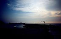 8月の浜辺(その3) - そぞろ歩きの記憶