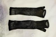 黒レース指なし手袋16 - スペイン・バルセロナ・アンティーク gyu's shop