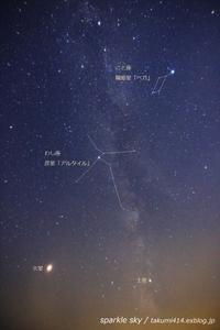 sparkle sky / 夏の大三角 - 君がいた風景