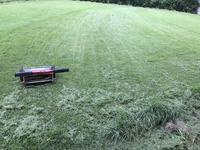 ハムとたまごサンド@LAWSON 山小屋の芝刈りは2/3で終了。 - よく飲むオバチャン☆本日のメニュー