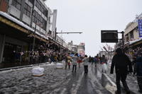あ、きた。「いぬ年」。 冬の秋田もふもふツアー その23 アメッコ市 - りきの毎日