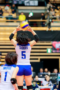 田代佳奈美 ~東レアローズ~ - Tatsuya Uehara Photo Blog S
