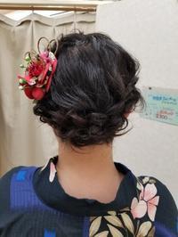浴衣セット - ヘアーサロンササキ(釜石市大町)のブログ