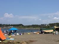 お盆休みのエビカ浜は… - 自然と遊楽
