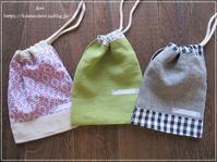 【ハンドメイド 布小物】入園・入学グッズを作っています** - &m   handmade with linen,cotton...