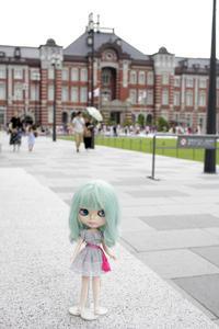 ユーフォーさん、東京駅辺りで外撮り - T's Photo Diary3(Grass Field*)
