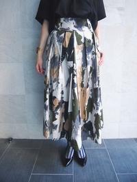 RE LEAN オリジナルプリントスカート - suifu