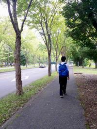 8/11長男夏休みのオープンキャンパスへ - 「あなたに似た花。」