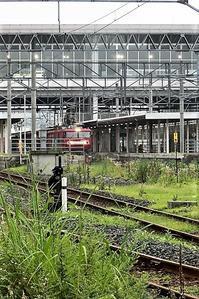 藤田八束の鉄道写真@東北本線八戸駅から貨物列車「金太郎」を撮影、青い森鉄道の貨物列車金太郎の元気な姿に久しぶりに会えて感動です - 藤田八束の日記