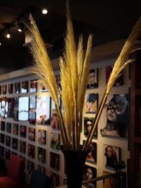 今週のWORLD BOOK CAFEさんは「パンパスグラス」。2018/08/11。 - 札幌 花屋 meLL flowers