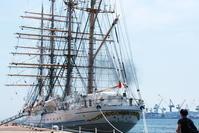 海王丸Ⅱ出航日 - yutorieの庭②