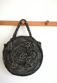 サークルバッグを編みました - ニットの着樂