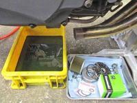 S田サン号 GPZ900RニンジャにBITO KYB Fフォーク装着とか・・・!(^^)! (Part2) - フロントロウのGPZ900Rニンジャ旋回性向上計画!