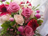 お盆は休みませんお祝いのお花も受付中 - ルーシュの花仕事