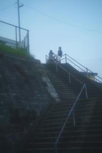 夕方の散歩 -     ~風に乗って~    Present
