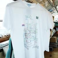 オリジナルデザインTシャツ - 橋、私。